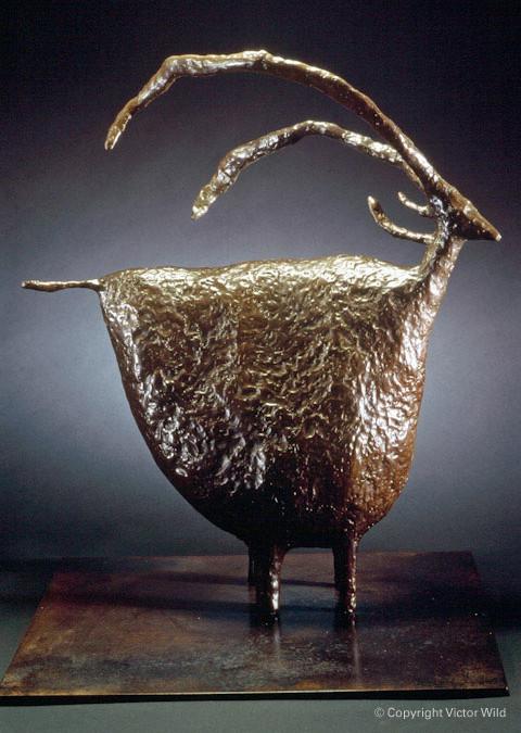 Mountain Goat Sculpture