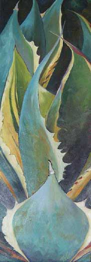 Agave Painting on Canvas