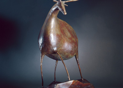 Ibex Sculpture