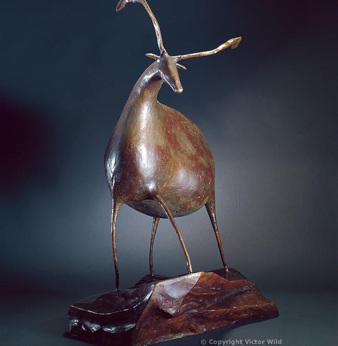 Ibex Sculpture